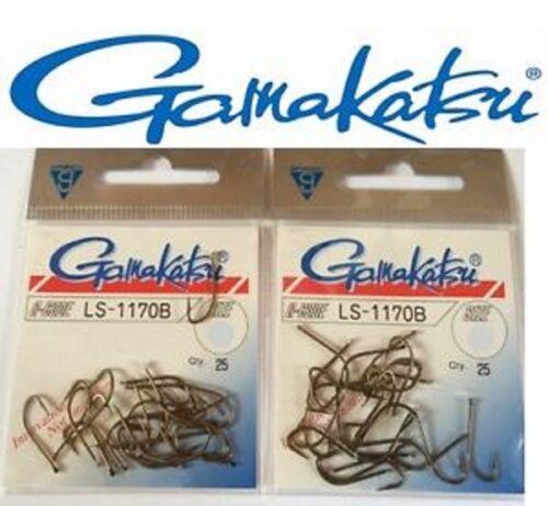 Hameçons Gamakatsu G-Code LS-1170B N°18 par 25