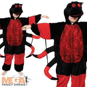 Araignée Enfants Insecte Animal Robe De Fantaisie Enfant Garçons Filles Costume Tenue 3-11 Ans-afficher Le Titre D'origine