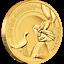 Tuvalu-25-Dollar-2019-Bugs-Bunny-1-Looney-Tunes-1-4-Oz-Gold-PP Indexbild 1