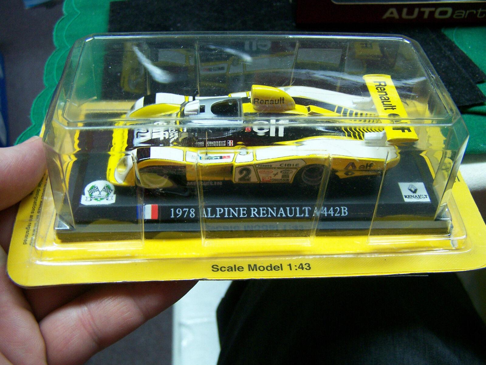 1 43  Del Prado Renault Renault Renault Elf  1978 Alpine Renault  A442B eff697