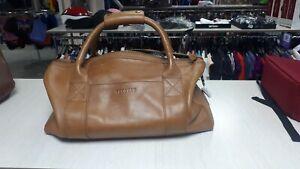 Tecovas Travel Bag Men Duffle Weekender Leather sand color New size M  PPR 395$