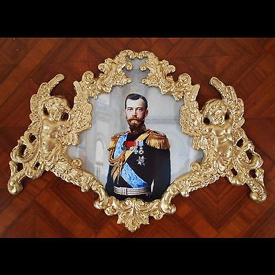 Russian queen Catherine The Great.Faux ormolu.Furniture mounts//decor.