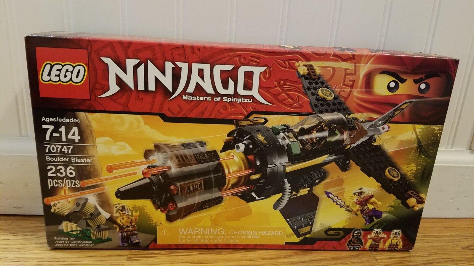 LEGO set 70747 Ninjago Boulder Blaster Factory sealed nouveau  in box  il y a plus de marques de produits de haute qualité