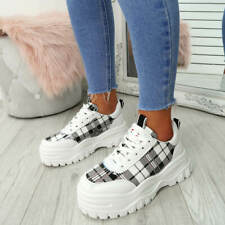59692f836ee92 item 6 WOMENS LADIES LACE UP CHUNKY TRAINERS PLATFORM SNEAKERS FASHION SHOES  SIZE -WOMENS LADIES LACE UP CHUNKY TRAINERS PLATFORM SNEAKERS FASHION SHOES  ...