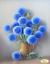 Bild Perlen sticken Stickpackung Blumen 24x31 cm Stickvorlage vorgedruckt Set