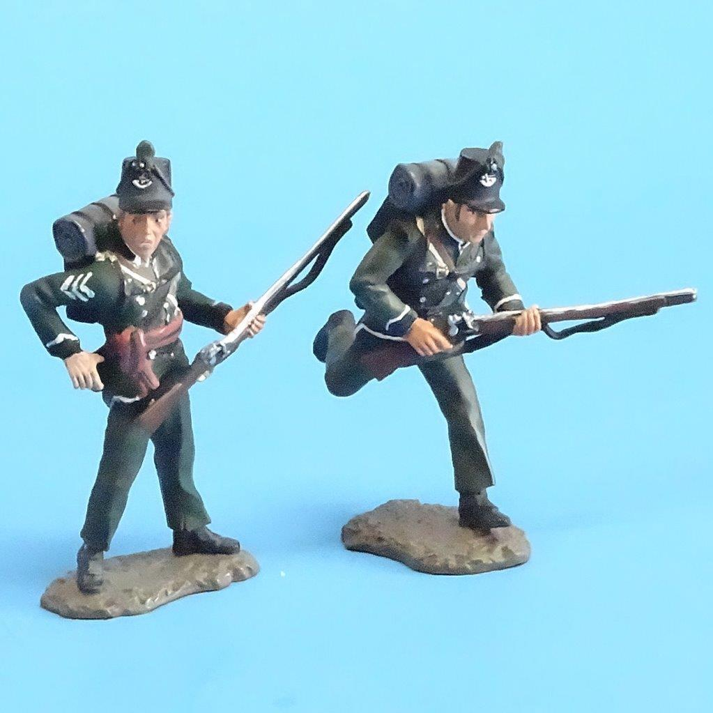 CORD-N0100 - 95th Rifles - Sergeant and Trooper (2 Pieces) - Napoleonics