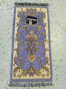 Islamic-Travel-Mat-Prayer-Rug-Muslim-janamaz-Mat-Turkish-Quality-Sajda-chenille