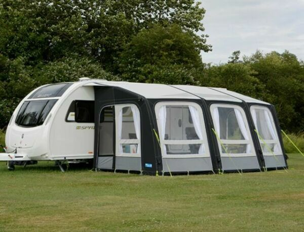 Kampa Ace AIR Pro 500 Inflatable Caravan Porch Awning ...