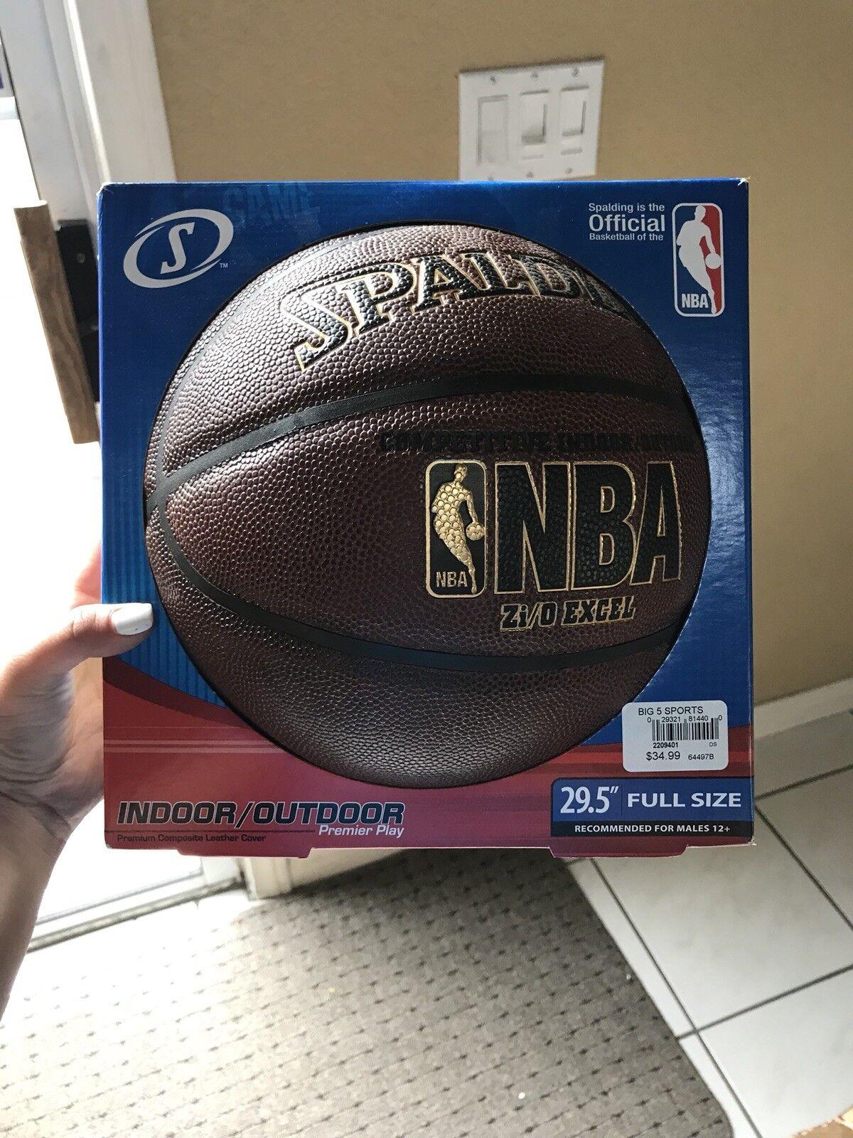 "New Spalding Basketball NBA Indoor Outdoor Zi o 29.5"""