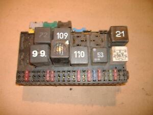 vw fuse panel fuse box 90 98 yr jetta eurovan corrado passat rh ebay ie eurovan fuse box 2003 eurovan fuse box