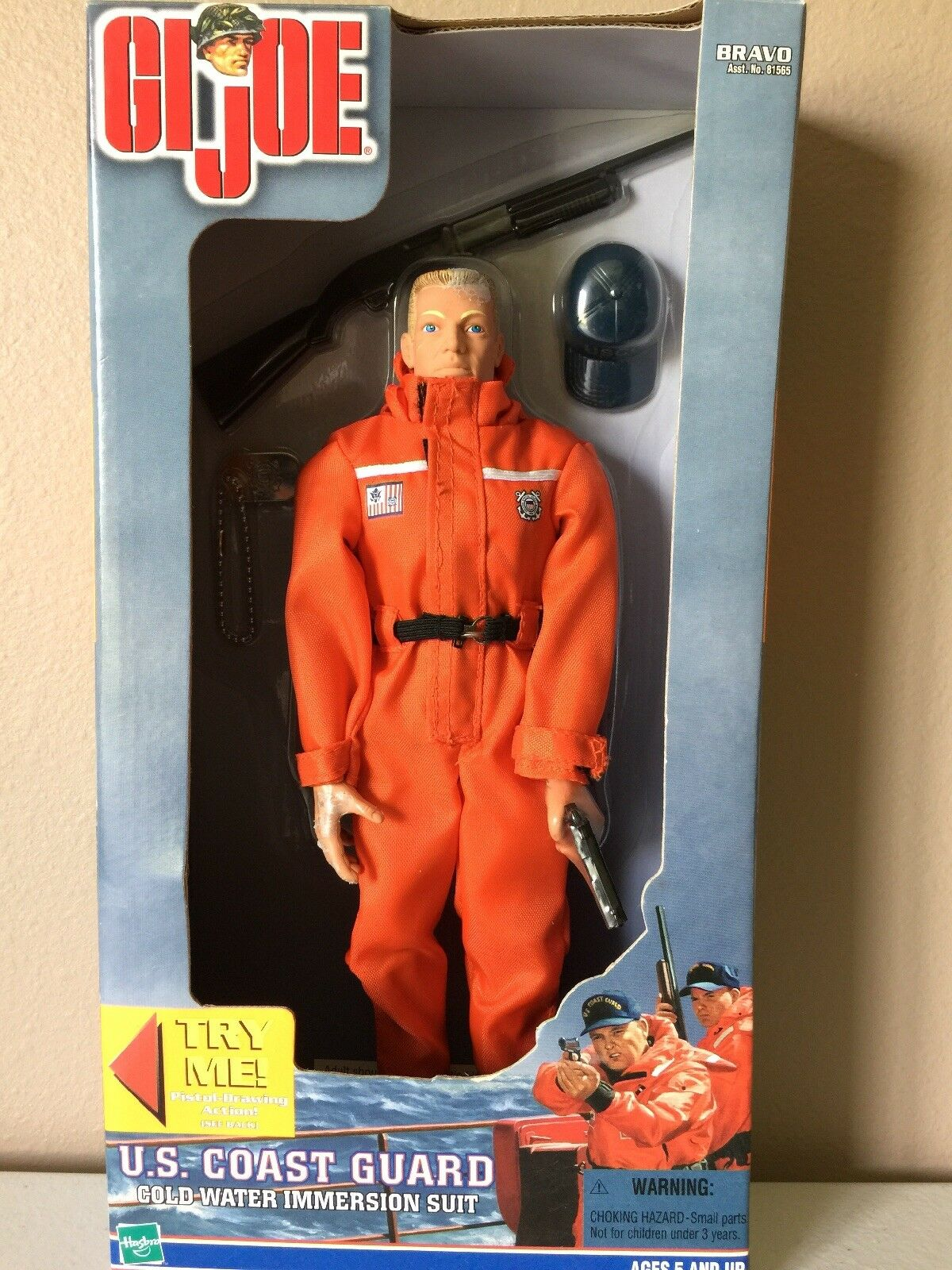 GI JOE U.S. COAST GUARD IN GREAT CONDITION.