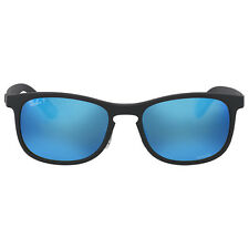 Ray Ban Polarized Blue Mirror Square Sunglasses