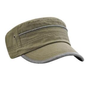 hommes-reglable-armee-plain-chapeau-cadet-militaire-baseball-sport-cap