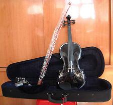 BRAND NEW! Student Black Violin CSV105 - Full Size 4/4