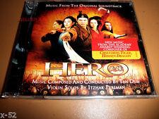 Jet Li HERO soundtrack CD Tan Dun ITZHAK PERLMAN zhang yimou OST score