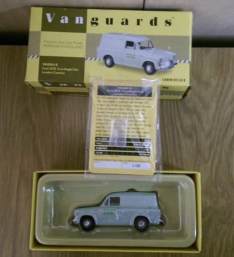 Corgi VA00418 Ford 307E 7cwt Anglia Van London Country Ltd Ed Factory Sample