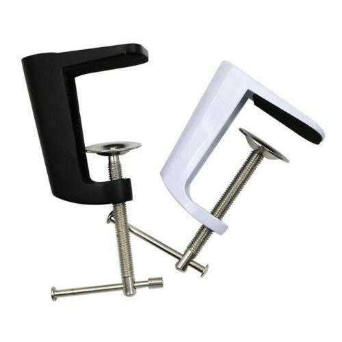 Bureau De Bras Réglable En Acier inoxydable Pince Lampe De Table Support De