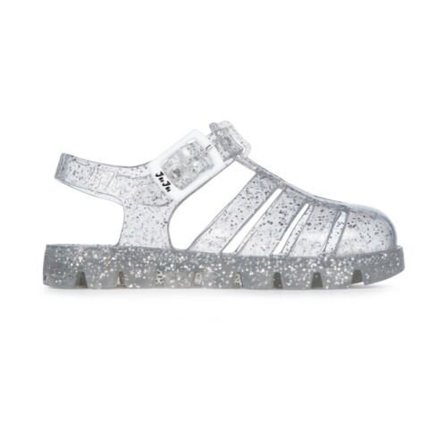 in silver New Ju Ju Jelly Water Shoes Size 3 youth