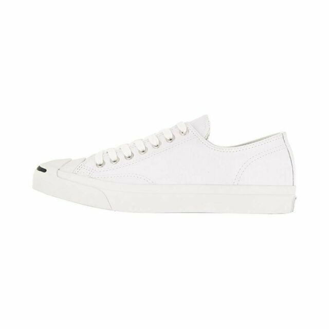 Converse Jack Purcell CP Ox White Canvas Men Women Classic Casual Shoes 1q698 8.5