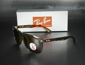 RAY-BAN-RB4147-710-57-Light-Havana-Crystal-Brown-Polarized-60mm-Men-039-s-Sunglasses