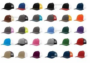 a42f6844bef23 New! Richardson 112 Trucker Hat Mesh back Snapback Ball Cap SALE 70+ ...