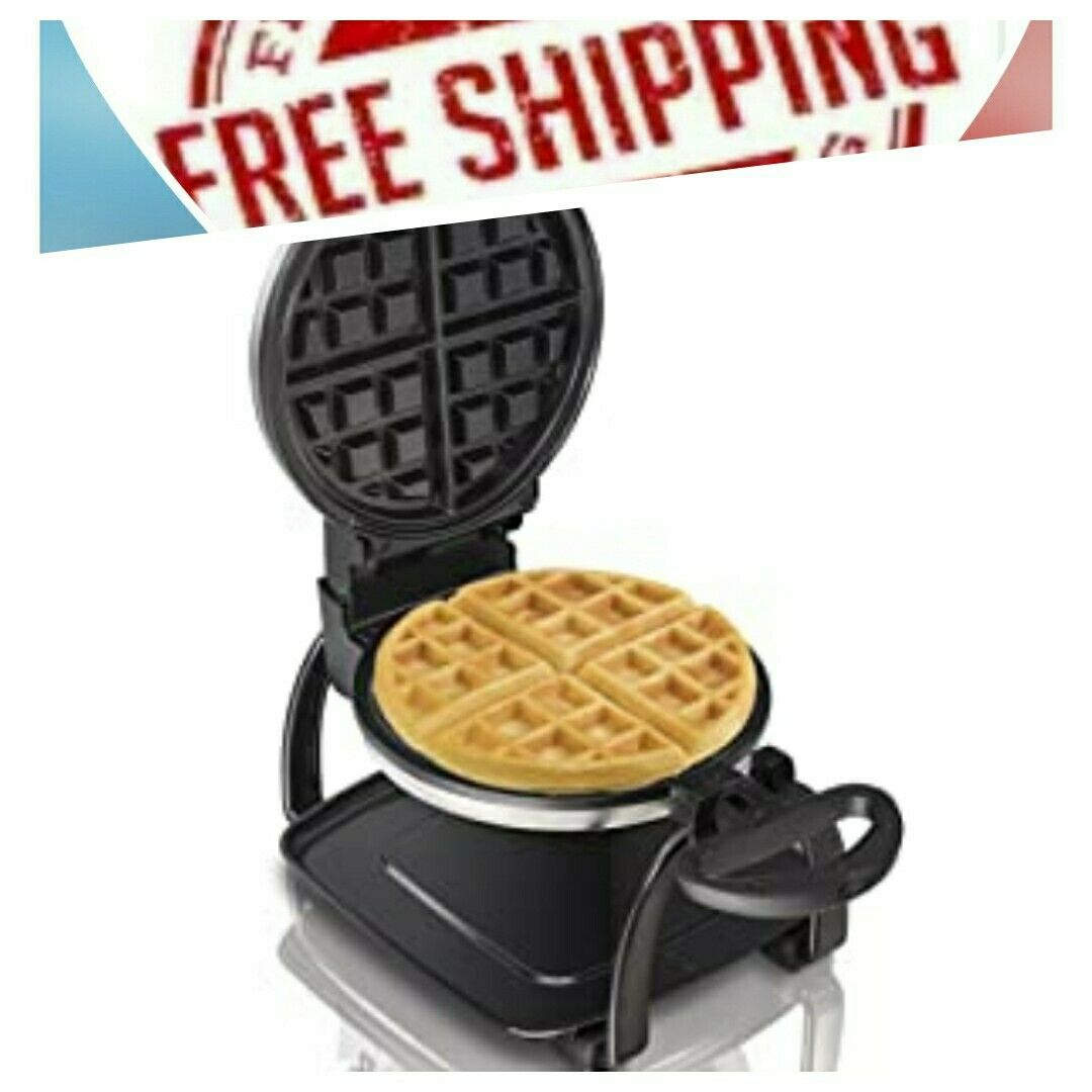 Hamilton Beach Flip Belgian Waffle Maker With Non Stick Removable Plates Browni For Sale Online