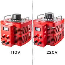 Vevor 110v Variable Transformer 5000w Ac Voltage 0 230v Built In Copper Coil