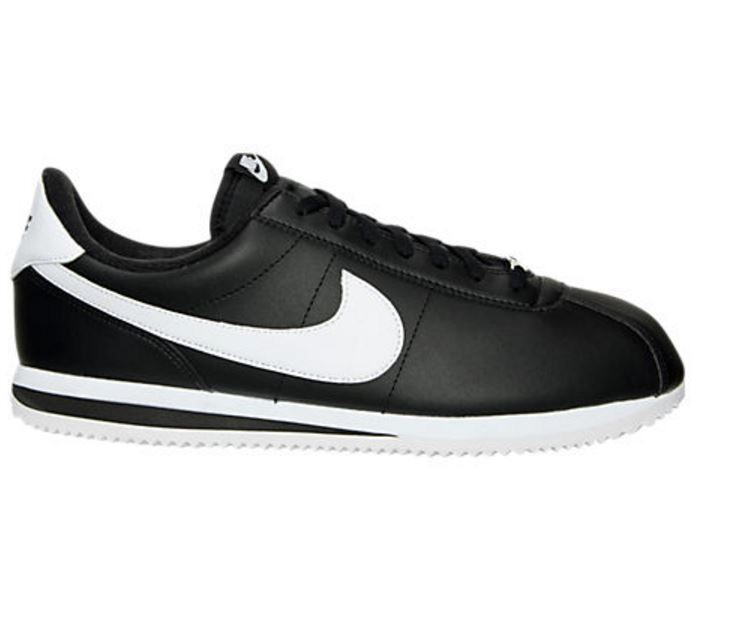 NIKE Cortez noir / leather blanc leather / homme chaussures 819719 012  Fast shipping O 172fc5