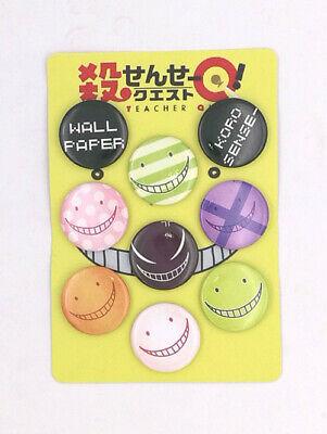9pcs Anime Attack on Titan Badge Brooch Pin Button 3.2CM #2