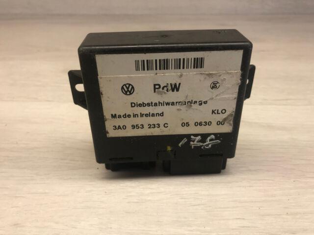 A95 SEAT ECU Control Unidad de Módulo 3A0953233C, 05063000