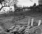 Confederate Graves after the Battle of Gettysburg 8