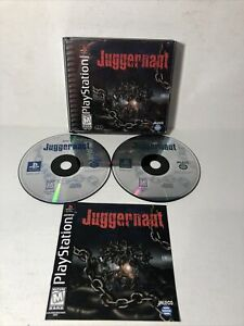 Juggernaut-Sony-PlayStation-1-1999-PS1-Near-Complete-CIB-Tested