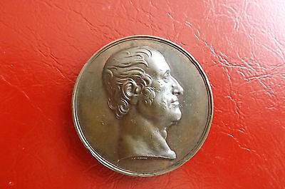Sinnvoll *seltne Bronze-medaille Von Donadio Um 1920 / Ca.40mm*f.henry Egerton (box2) Um Zu Helfen, Fettiges Essen Zu Verdauen