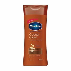 Vaseline-Intensive-Care-Cocoa-Glow-Herbal-Healthy-Free-Scent-Body-Lotion-200-Ml