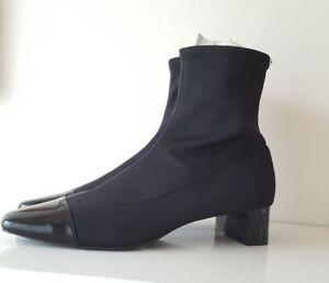 Eu 40 con Stivaletti elasticizzato 39 8 Uk Black Zara New 41 Taglie 7 tacco 6 O1wqPCx1