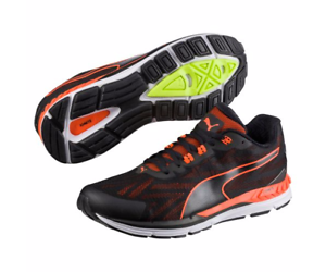 Puma 189518 05 Speed 600 Ignite 2 Black orange Men's Running shoes