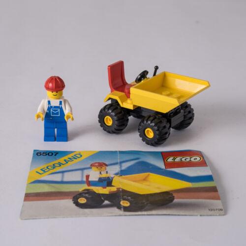 Lego 6507 Mini Ruspa con Operaio per Movimento Terra Città Legoland Town 1989