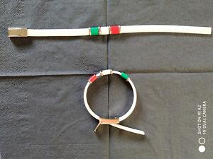 Bracciale-TRICOLORE-ITALIA-Braccialetto-ITALIANO-3-Colori-22cm-regolabile-Gomma