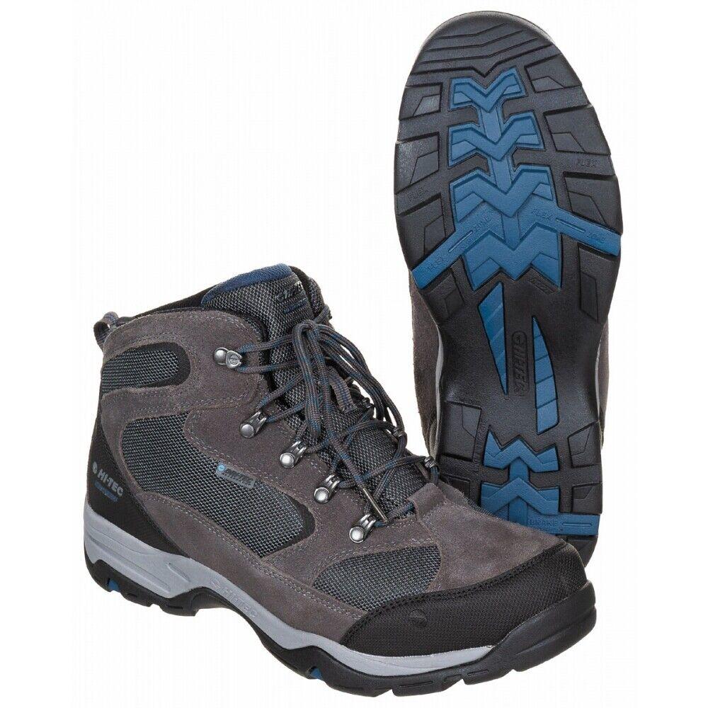 Scarpe da Trekking HiTec Storm  WP grigioblu scarponcini Outdoor Scarpe Sportive Nuovo  risparmia il 60% di sconto e la spedizione veloce in tutto il mondo
