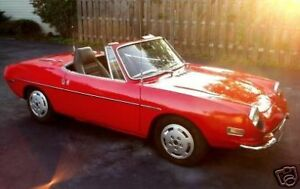 Image Is Loading Fiat Siata Vinyl Spring Convertible Top 1968 1975
