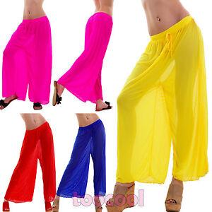 super popular b22fd 827e0 Dettagli su Pantaloni donna leggeri mare copricostume trasparenti velati  nuovi UP14159