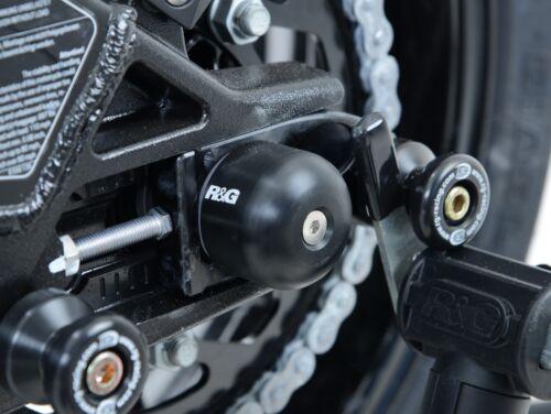 GSX R1000 L2 2012 R/&G Racing Swingarm Protectors 16mm and 24mm SP0057BK Black