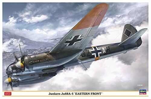 Hasegawa 1 48 Junkers Ju 88A-5 Eastern Front Model Kit NEW from Japan