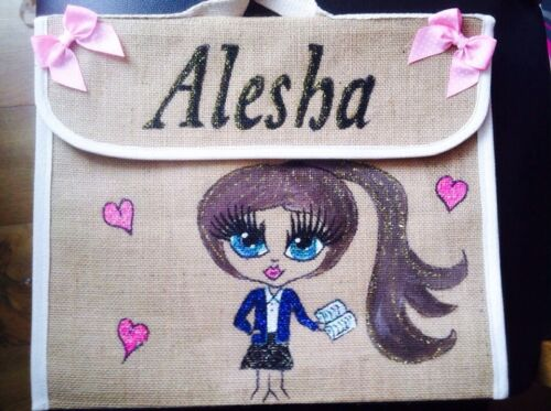 Personalised Pregnancy Notes  BOOK BAGS ANY NAME ANY And Design