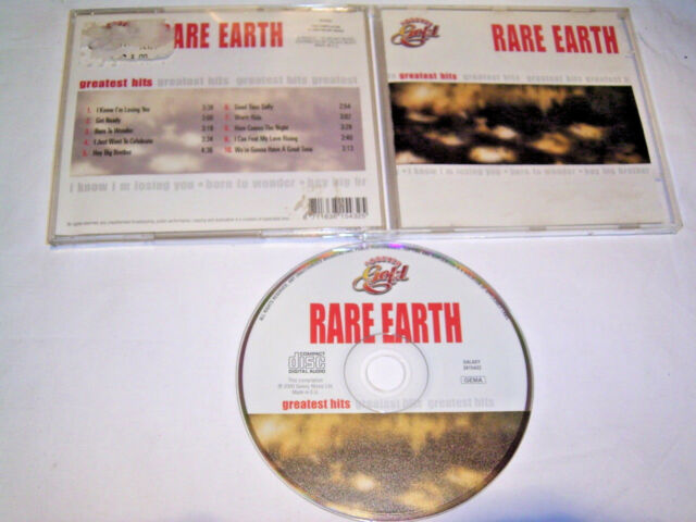 CD - Rare Earth Greatest Hits # S 12