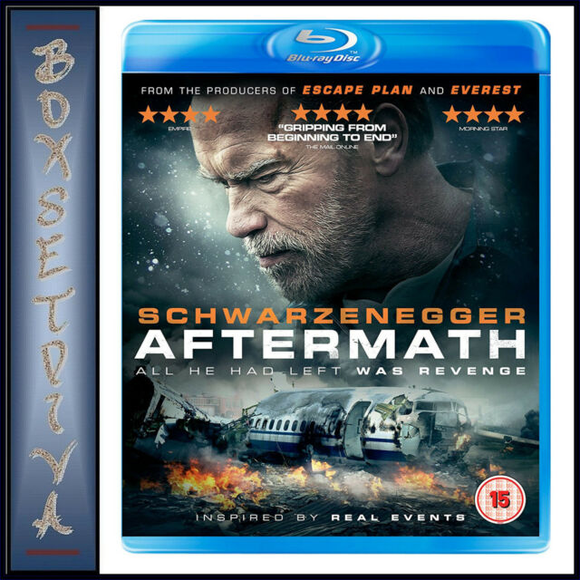 AFTERMATH -   Arnold Schwarzenegger & Maggie Grace **BRAND NEW BLU-RAY***