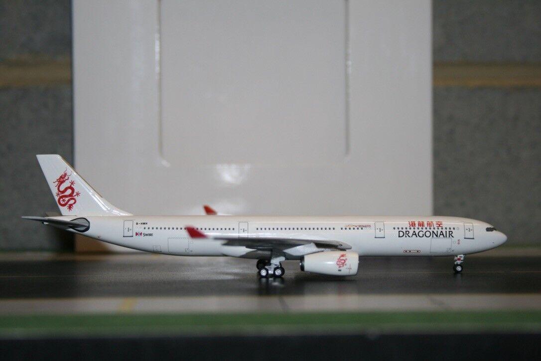 Aeroclassics 1 400 Dragonair Airbus A330-300 B-HWH (ACBHWH) Die-Cast Model Plane
