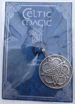 Ancient & Celtic Magic Pewter Pendants With Cord -Pagan/Necklaces/Druid/Wicca
