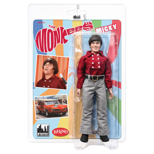 The Monkees 8 Inch Mego Style Action Figures: Red Band Outfit Micky Dolenz