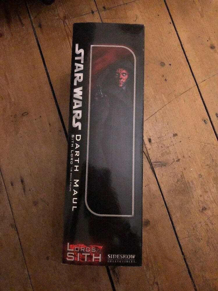 Sideshow Star Wars Lord Of The Sith Sith The Darth Maul Sith Lord AF SSC1065 d9e226